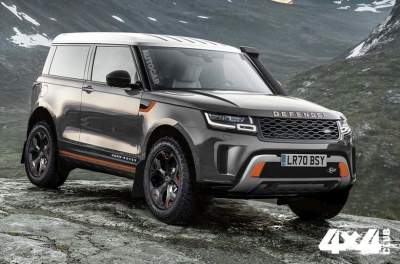 На базе нового Land Rover Defender создадут семейство моделей