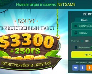 Лавина вознаграждений в виртуальном казино NetGame Casino